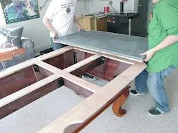 Pool table moves in Raleigh North Carolina