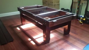 Correctly performing pool table installations, Raleigh North Carolina