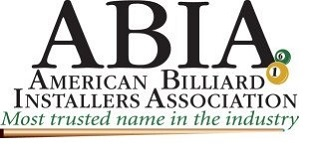 Abia Logo for Pool Table Setup in Raleigh