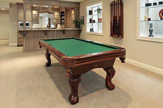 Professional pool table moves in Raleigh