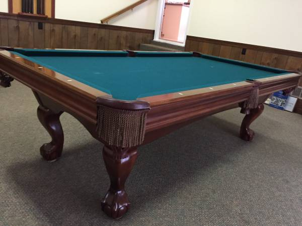 Used 8 Brunswick Pool Table At Everything Billiards Greensboro >> Solo Raleigh 8 Brunswick Contender Amherst Pool Table 19
