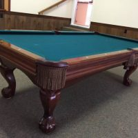 8' Brunswick Contender Amherst Pool Table