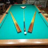 1956 Brunswick Pool Table
