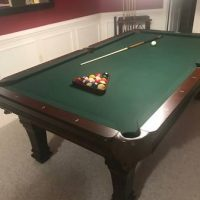 Perfect Condition!! Pencer Marston Slate Pool Table.