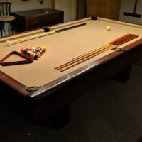 8' AMF Playmaster Slate Pool Table