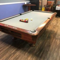 AMF Pool Table 9 Foot