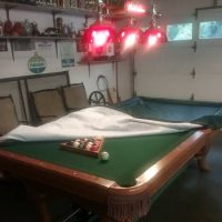 Pool Table & Pool Table Light