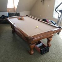 American Heritage Pool Table With Light Cream Color(SOLD)