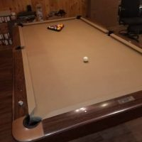 Brunswick Gold Crown III Pool Table