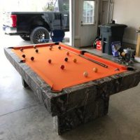 7' pool table from Gameroom Concepts in FL