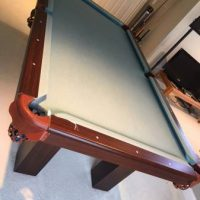 Pool Table Solid Mahogany Wood