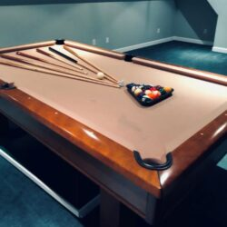Brunswick Pool Table - tan top
